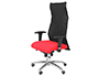 CHAISE DIRECTION Q-CONNECT TOILE BASE METAL MAXIMUM      SUPPORTE 100KG DIM.           1210X30X630MM COLORIS ROUGE