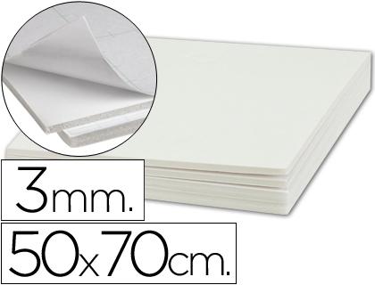 Liderpapel 972525 Carton Plume 50 x 70 cm 5 mm Unicolore Noir